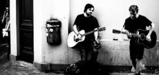 уличные музыканты, гитаристы