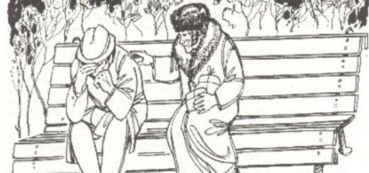 Чудесный доктор, иллюстрация к рассказу Куприна (Мерцалов и Пирогов)