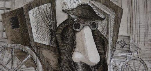 Нос, Николай Гоголь, иллюстрация к произведению