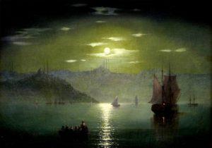 И.К. Айвазовский «Лунная дорожка»