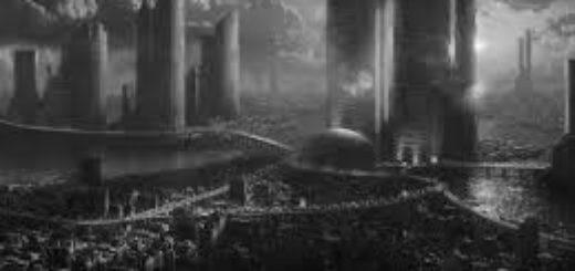 город будущего, фантастический мир