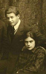 Софья Толстая и Сергей Есенин