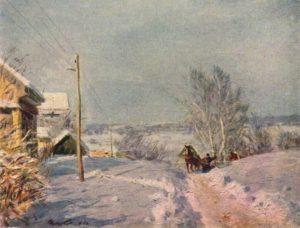 В.Г. Цыплаков «Мороз и солнце»