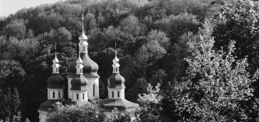 церковь, храм среди леса, родная земля