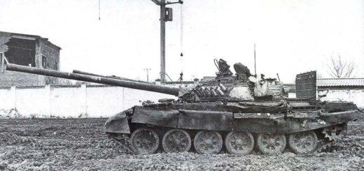 танк на войне