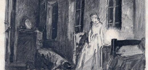 Сцена раскаяния Раскольникова пере Сонец, Преступление и наказание, Достоевский