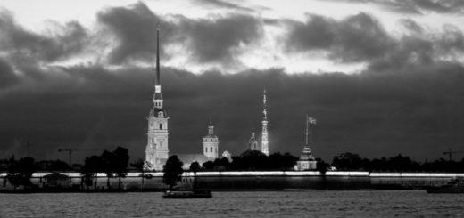 Санкт-Петербург, шпиль Адмиралтейства