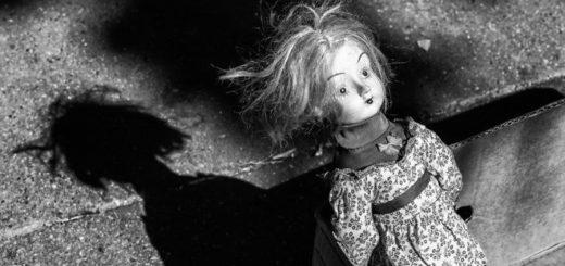старая кукла, иллюстрация к рассказу Носова