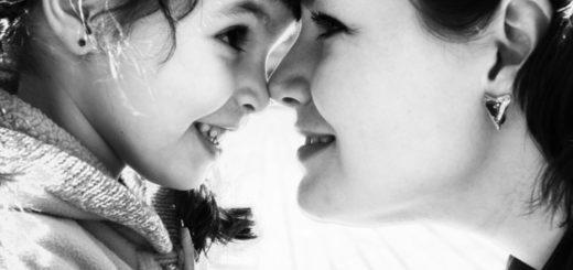 мать и дочь, семья, материнская любовь