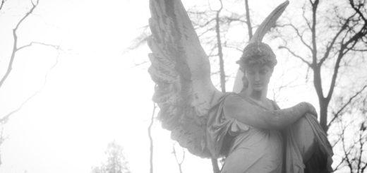 Сила духа, скульптура, ангел