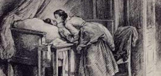 Иллюстрация к повести Капитанская дочка, Маша и Петр
