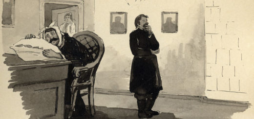 Лошадиная фамилия, иллюстрация к рассказу Чехова