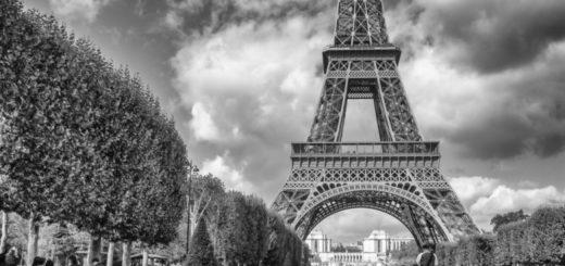 Париж, Марсово поле, Эйфелева башня