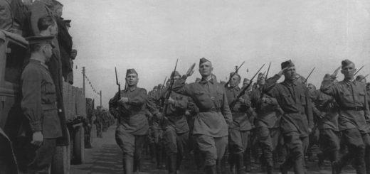 Великая Отечественная война, парад