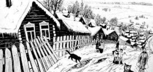 Матренин двор, Солженицын