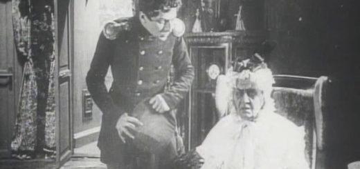 кадр из фильма Пиковая дама, Германн и графиня Томская