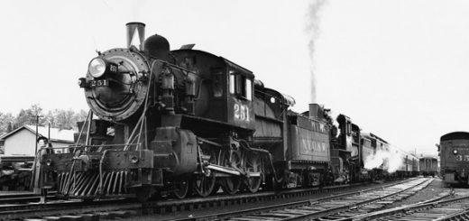 поезд на рельсах, железная дорога