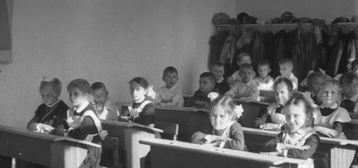 первый класс, школа, ученики