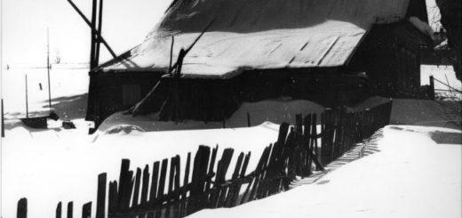зима, деревня, русская природа