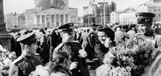 Победа 1945 года в Москве, парад