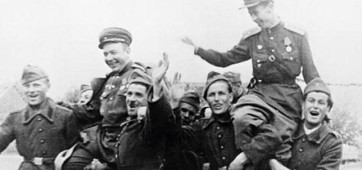 солдаты, победа 1945 года
