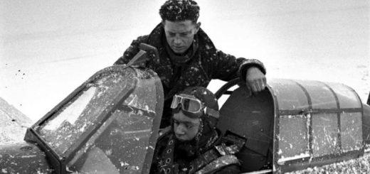 советский летчик, Покрышкин, ВОВ