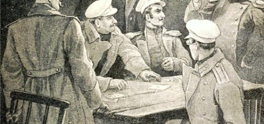 Михаил Лермонтов, Герой нашего времени, глава Фаталист