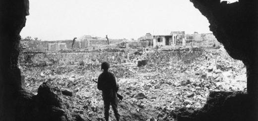 солдаты, разруха, война