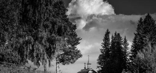природа, леса и поля, церковь