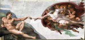 изображение сотворения Адама