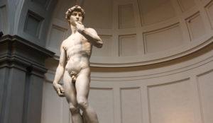 Микеланджело – скульптура Давида