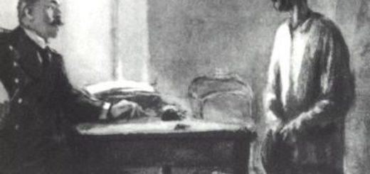 Злоумышленник, иллюстрация к рассказу Чехова