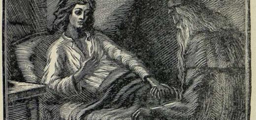 Мцыри в монастыре, иллюстрация к поэме