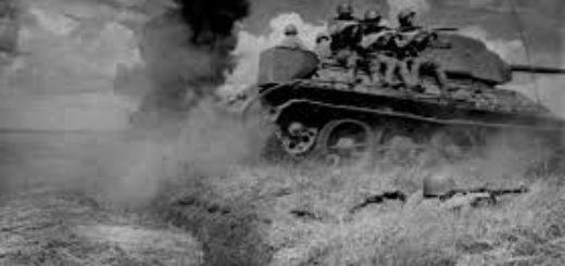 война, танк, солдат, взрывы