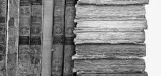 стопка древних книг