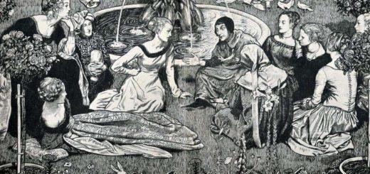 Джованни Боккаччо, Декамерон, иллюстрация к книге