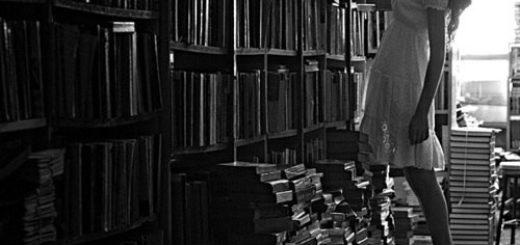 книги, библиотека, книжные полки
