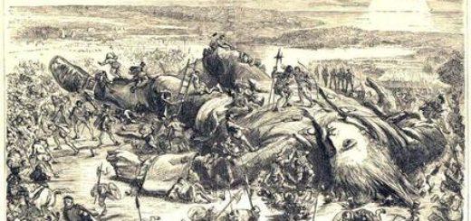 Путешествия Гуливера, лилипуты задержали пленника