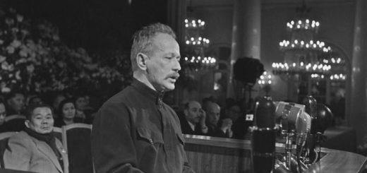 Михаил Шолохов, советский писатель