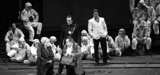 кадр из спектакля Леди Макбет Мценского уезда