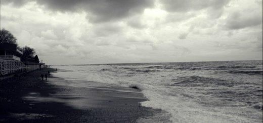 море, океан, прибой