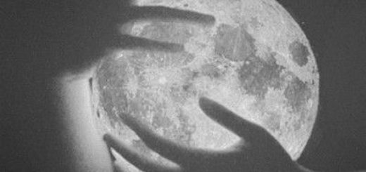 ночь, луна, сумерки
