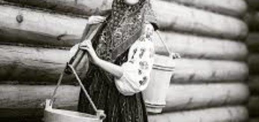 крестьянка в кокошнике