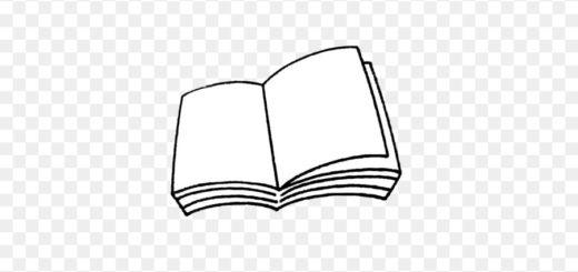 книга, раскрытая книга