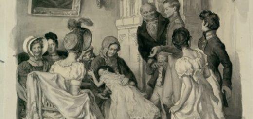 Война и мир, Лев Толстой, иллюстрация к роману
