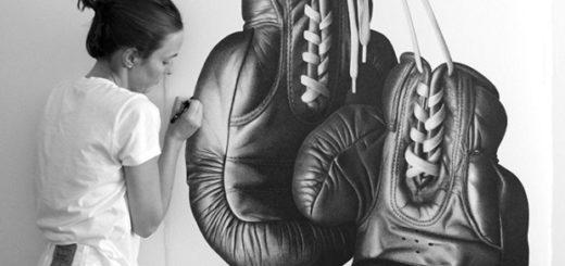 женщина художник