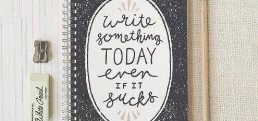 писатель, книга, блокнот