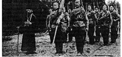 Белая гвардия на фронте