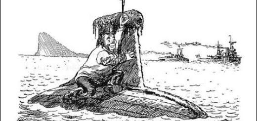 иллюстрация к повести Приключения капитана Врунгеля