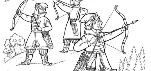 иллюстрация к Сказке о царевне-лягушке